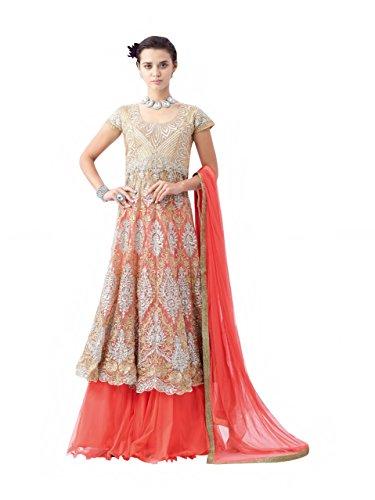 Ceremony Bollywood Party Wear Gown Dress Ethnic Bridal Heavy Designer Women Indian Anarkali Salwar Kameez suit hit design 326