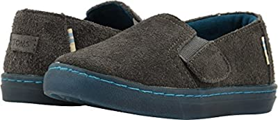 TOMS Kids Luca (Infant/Toddler/Little Kid) Shade Shaggy Suede Water Resistant 9 Toddler