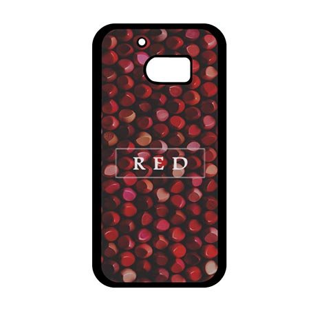 Uncommon Anti-scratch HTC One M10 Back Case Cover Fancy Customized Red Lipstick