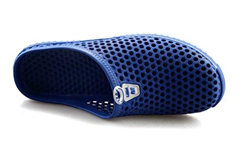 clapzovr Unisex Garden Clogs Water Sandals Warm Slipper for Women and Men Blue XHayZsh3B