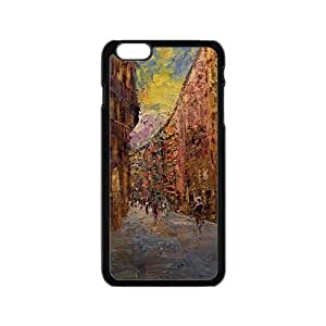 Ancient street oil painting Phone Case for iPhone 6 by lolosakes