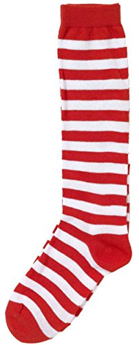 [Forum Novelties Novelty Candy Cane Striped Child Christmas Socks] (Dr Seuss Baby Halloween Costumes)