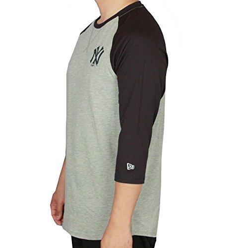 Nueva Era y MLB Camiseta del raglán ~ Yankees de Nueva York
