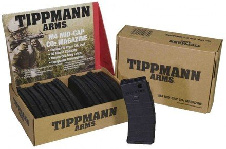 (Tippmann Arms M4 Carbine Airsoft 80 Round Magazine (10 Pack))