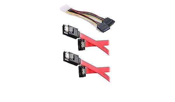 iMBAPrice doble para disco duro SSD/SATA cable de conexión kit (1 ...