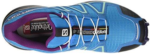 Salomon Damer Speedcross 4 Trail Løbesko Flerfarvede (hawaiian Surf / Astrale Aura / Drue Jui 000) D9F8F8e
