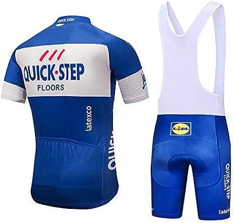 MUBODO Maillot de v/élo et Cuissard pour VTT Combinaisons de Cyclisme Respirantes