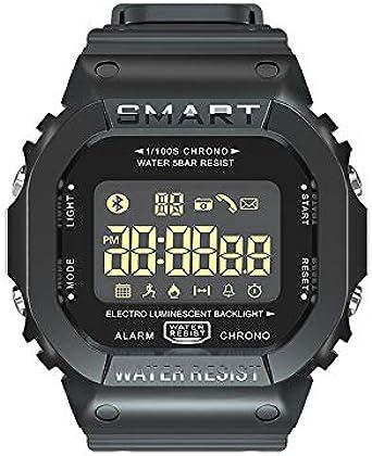 Reloj Digital, Hombre Impermeable Fitness Tracker para Correr ...