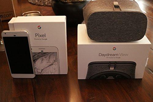 Google Pixel XL Phone 32GB - 5.5 inch display ( Factory Unlocked US Version ) (Very Silver)