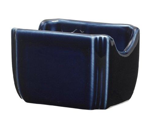 Fiesta 3-1/2-Inch by 2-3/8-Inch Sugar Packet Caddy, Cobalt