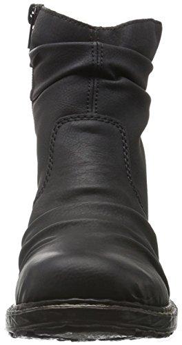 Rieker 79284, Botines para Mujer Negro (schwarz / 01)