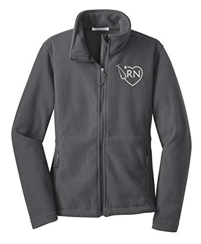 Top registered nurse fleece jackets for women