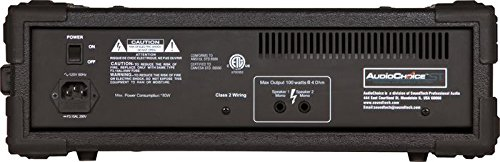 Amazon.com: AUDIO CHOICE by SOUNDTECH C100 100W PORTABLE PA SYSTEM MASTER EQ: Musical Instruments