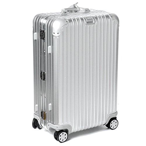 (リモワ)/RIMOWA キャリーバッグ メンズ TOPAS スーツケース ELECTRONIC TAG(エレクトロニックタグ) 64L シルバー 92463005-0002-0013 [並行輸入品] B072L1X7PQ