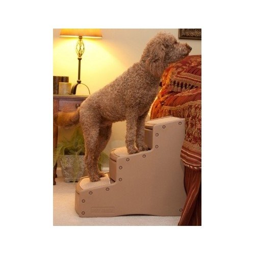Pet Gear Easy Step III Innovative and Comfortable 23-high Pet Stairs by Pet Gear