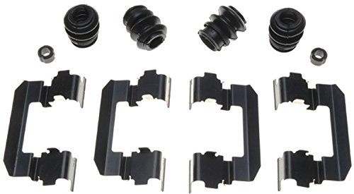 Pilot Bushing (ACDelco 18K1678X Professional Front Disc Brake Caliper Hardware Kit with Clips, Seals, and Bushings)