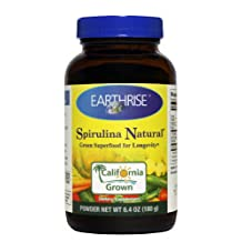 Earthrise Nutritional Earthrise Spirulina Natural, 180 Grams Powder