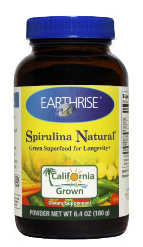 Earthrise Spirulina Natural Powder