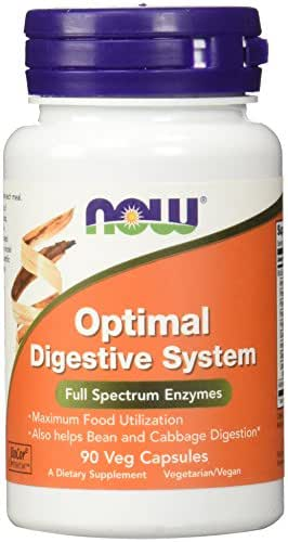Now Supplements, Optimal Digestive System, Full Spectrum Enzymes, 90 Veg Capsules