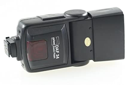 Dörr 370906 DAF-34 Zoom Systemblitzgerät für Olympus/Panasonic Kamera