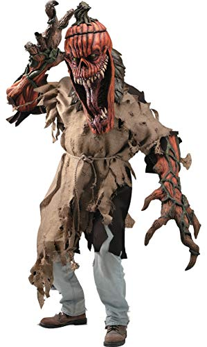 Bad Seed Creature Reacher Deluxe Oversized Mask and Costume -