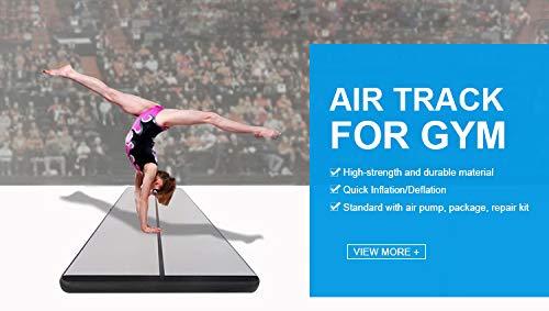 Amazon.com: Foammaker Air Track Tumbling Mat (8 pulgadas de ...