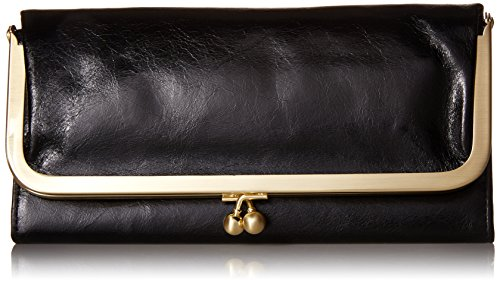 HOBO Vintage Rachel Wallet,Black,one size by HOBO