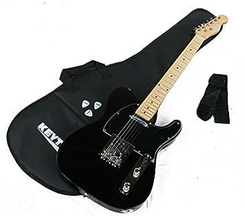 KEYTONE Guitarra Eléctrica TL Style Deluxe & Accesorios