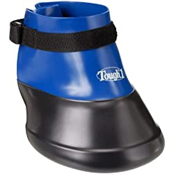 Tough 1 Hoof Saver Boot, Royal Blue, Small