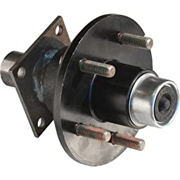Tie Down Engineering 5-Lug Hub/Spindle End Unit for Build Your Own Trailer Axle System - 1750-Lb. Capacity Per Hub, Model# 80117