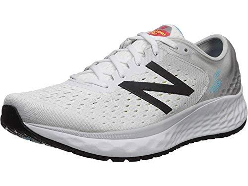 New Balance Men's 1080v9 Fresh Foam Running Shoe, Summer Fog/Black, 10 M US