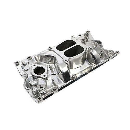 Assault Racing Products PC2006 Small Block Chevy Dual Plane Vortec Polished Aluminum Intake Idle-5500 RPM SBC