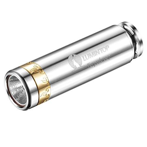LUMINTOP Lumens Rechargeable Flashlight Torpedo