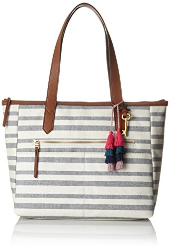 Shopper Multicolour 10 Stripe 89x41 Fossil Ew cm Tote x H B 8x28 Fiona T Damentasche 91 Blue Womens SYqztw
