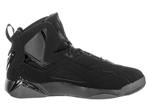 Herren Jordan True Flight Basketball-Schuh, schwarz - schwarz / dunkelgrau - Größe: 42,5 EU (M)