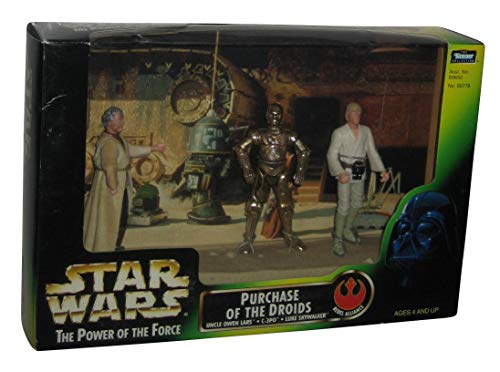 Star Wars: Power of The Force Cinema Scenes > Purchase of The Droids