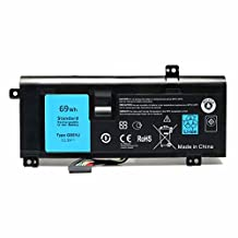 SKYSTYLE Replacement New Laptop G05YJ Battery For Dell Alienware 14 A14 M14X R4 14D-1528 ALW14D 0G05YJ Y3PN0 8X70T ALW14D-4828 11.1V 69WH