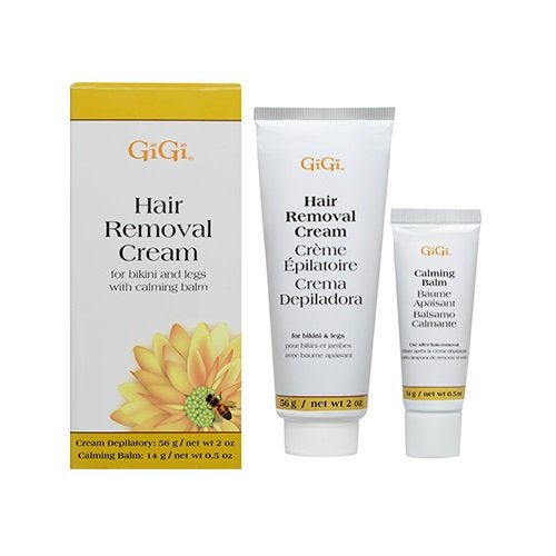 GiGi Hair Removal Cream for Legs and Bikini (Pack of 3)