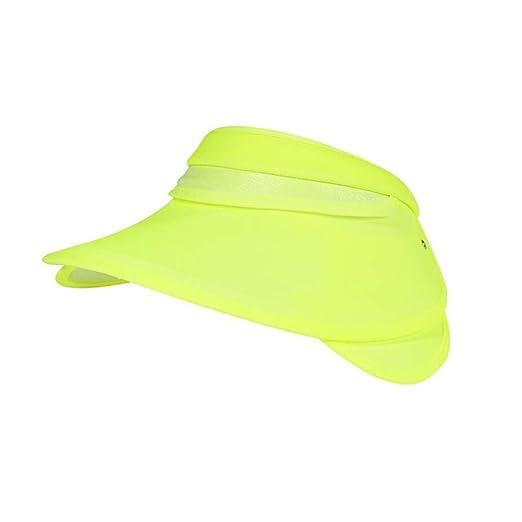 ZX-sombrero Dom Visera UV Proteccion Gorra, Ajustable Mujer Chicas ...