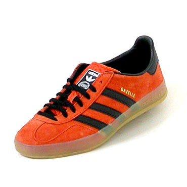 Adidas Gazelle Indoor craora/black1/gum1, Größen:48 2/3
