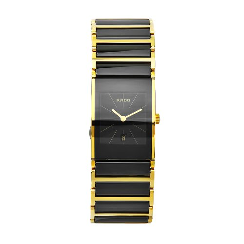 - Rado Women's R20788162 Integral Black Dial Ceramic Bracelet Watch