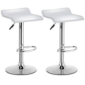 Miraculous Amazon Com Hcd Usa Set Of 2 Transparent Acrylic Hydraulic Pabps2019 Chair Design Images Pabps2019Com