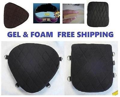 Driver /& Back Passenger Seats Gel Pads Set for Honda Rebel Series Model comfy!!