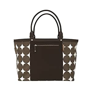 Dwell Studio Diaper Tote Bag, Chocolate (Discontinued by Manufacturer)