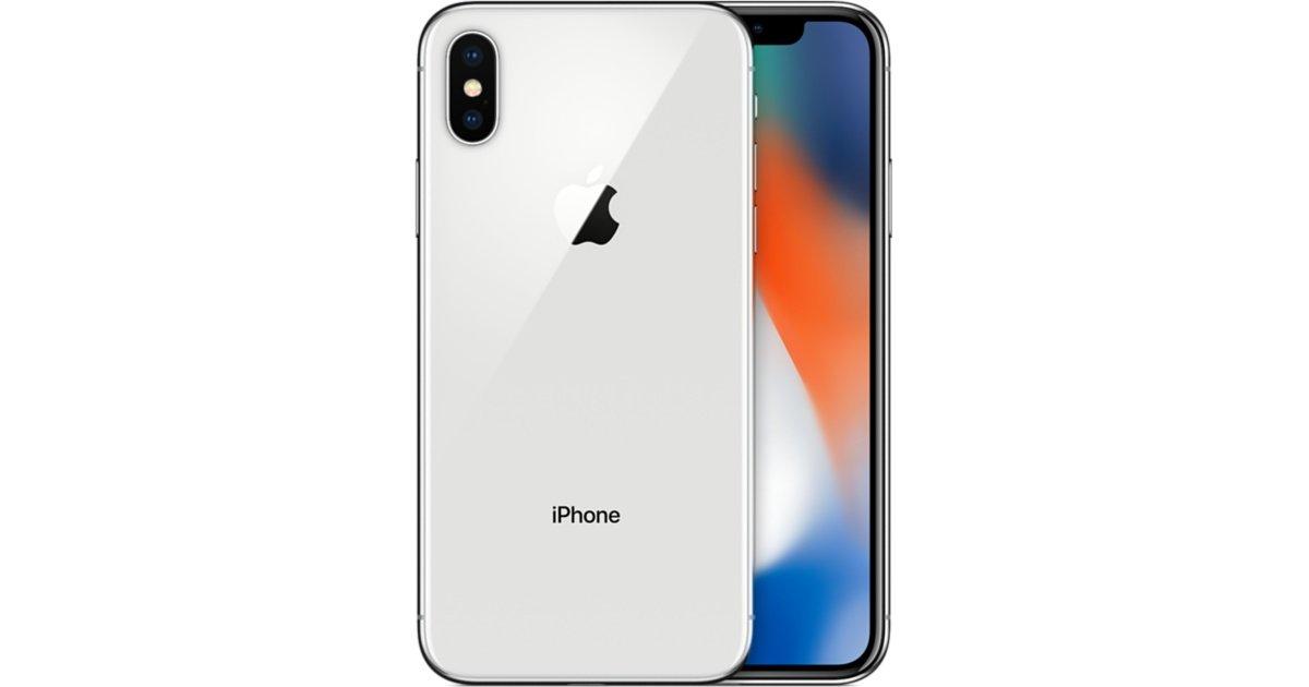 iPhoneX 64GB(シルバー)