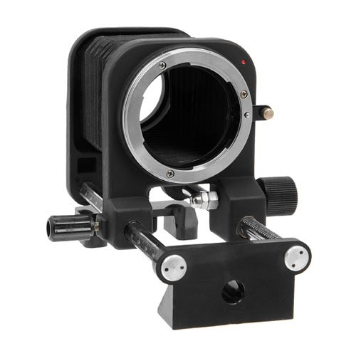 Fotodiox Macro Bellows Compatible with Nikon F Mount D/SLR Camera System for Extreme Close-up Photography