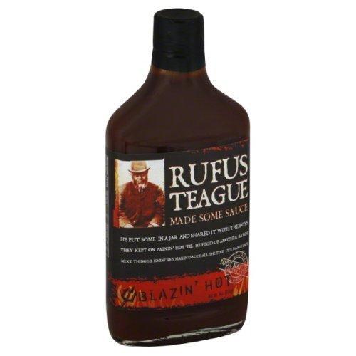 RUFUS TEAGUE SAUCE BBQ BLAZIN HOT 16OZ CASE OF-6 by Rufus Te