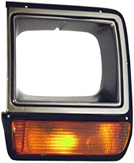 OE Replacement Dodge Pickup/Ramcharger Driver Side Headlight Door Black with chrome (Partslink  sc 1 st  Amazon.com & Amazon.com: OE Replacement Dodge Pickup Passenger Side Headlight ...