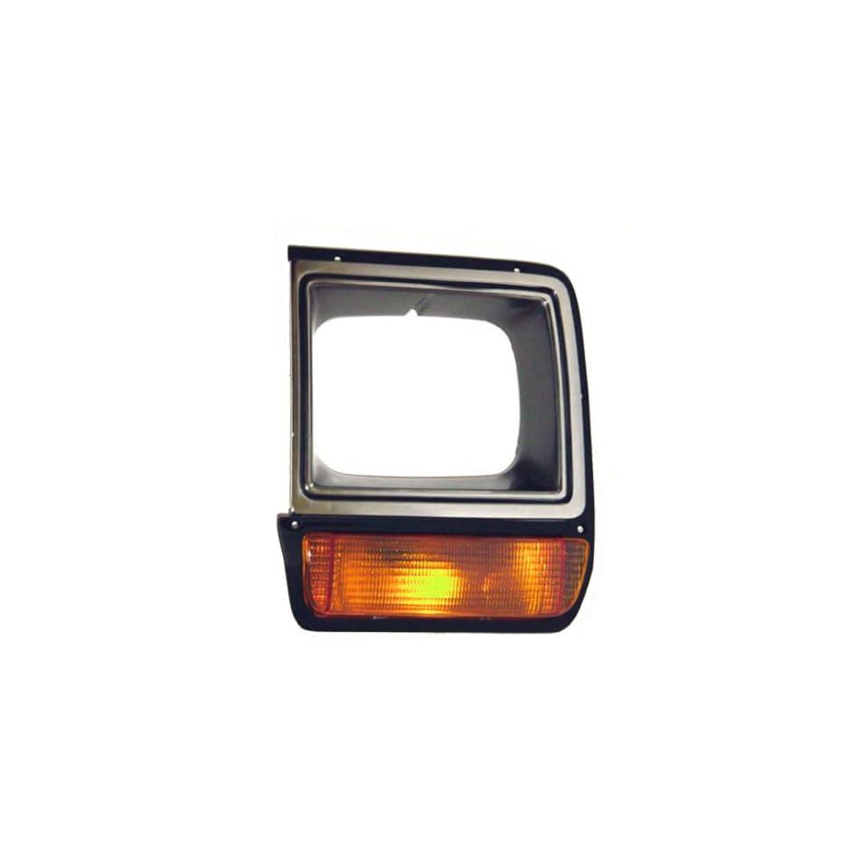 OE Replacement Dodge Pickup/Ramcharger Driver Side Headlight Door (Partslink Number CH2512135)