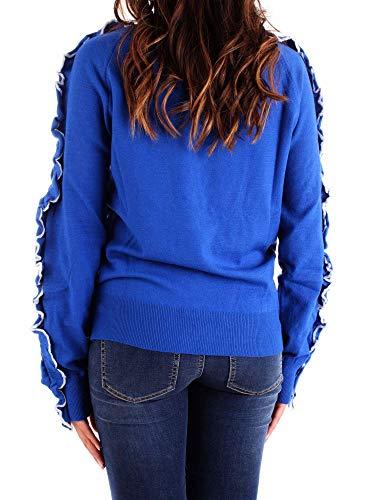Bleu Femme Coton Pullover N 7723bluette Annarita fC6xwTqt